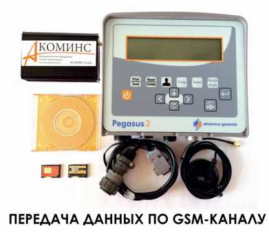 Оборудование для передачи данных с весов на ПК по GSM